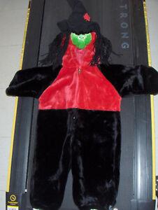 Costume de sorcière (2-3 ans)
