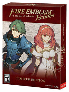 Fire Emblem Echoes: Shadows of Valentia Limited Edition 3DS