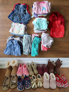 HUGE 0-3 month baby girl lot