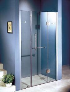 Portes de douche a charnière 60 pouces 10mm doors shower hinges