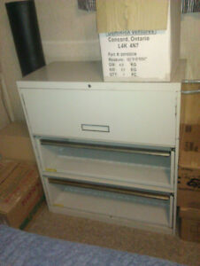 Lateral File Cabinet - Colour - Putty