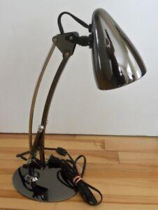 desk lamp - office table light - mirror finish