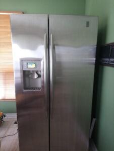 GE PROFILE Stainless Steel Refridgerator $200
