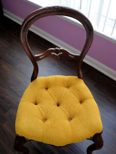 Balloon Chairs - Antique - 2-Chairs