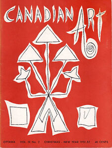 CANADIAN ART MAGAZINE CHRISTMAS NEW YEAR 1951-52