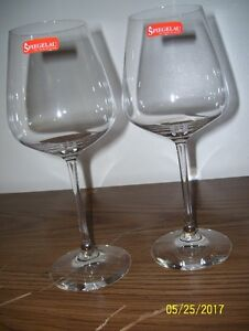 Spiegelau Set of 4 Wine Glasses $15.00 OBO Never Used