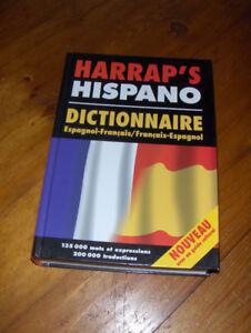 Dictionnaire français - espagnol