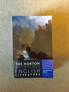 The Norton Anthology: English Literature: The Romantic Period Cambridge Kitchener Area image 1
