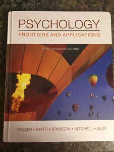 Psychology Frontiers and Applications 5th ed.