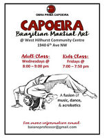 Capoeira at the West Hillhurst Community Centre