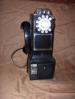 Vintage pay telephone Northern Electric