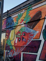 Muralist for hire