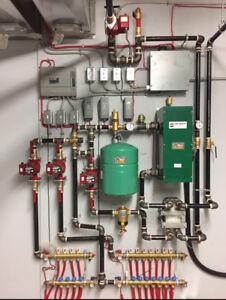 Boiler Boards/Panels In floor heat