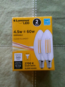 LED chandelier bulbs