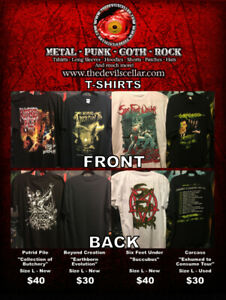 Metal T-Shirts for Sale.