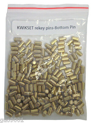 200 Pieces Pc Kwikset Rekey Bottom Pins 5 Locksmith Rekeying Pin Kits