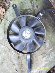 Kawasaki Ninja 600 ZX600 fan cooling fan rad fan