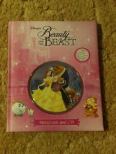 Beauty and the Beast storybook and CD.