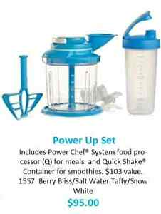 Power Chef system and Quick Shake