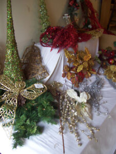 Christmas decorations - NEW- floral / craft supplies & Gifts