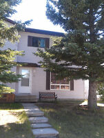 Two Store Half Duplex for rent . Cedardale SW
