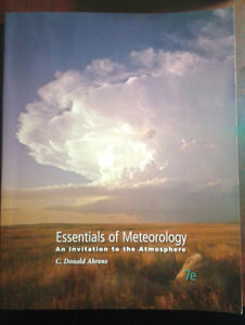Atmosphere and Climate: Essentials of Meteorology Ed: 7