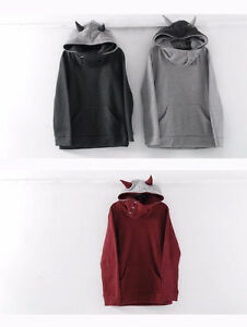 """Horn Accent Hooded Pullover-Like Dan wears from """"Dan & Phil"""""""