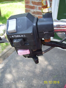 Yamaha Virago Maxim X V Star turn signal switch hi low control