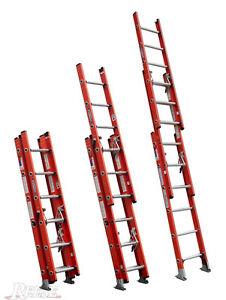 Werner 16 ft Type IA Fiberglass D-Rung Extension Ladder