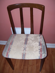 VINTAGE  DINING CHAIRS SET BY HONDERICH