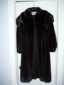 Full Length Mink Coat - Canadian Mink