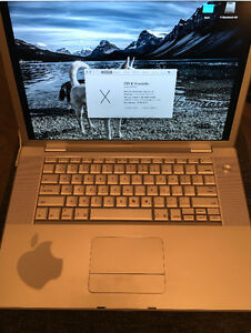 "Mature, hard working 15"" MacBook Pro"