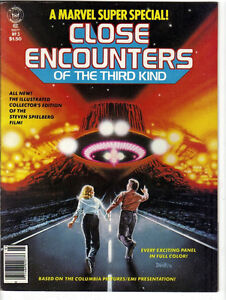 1978 Marvel Super Special Close Encounters of the Third Kind Com Kitchener / Waterloo Kitchener Area image 1