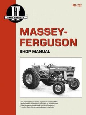 It Shop Manual Massey Ferguson - Compilation Mf175 Mf180 Mf205 Mf210 More