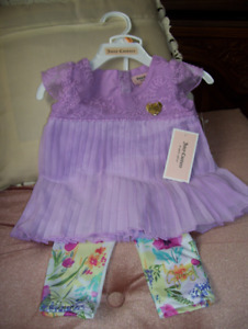 Juicy Couture Baby Dress, Size 12m, BRAND NEW, Mauve Colour