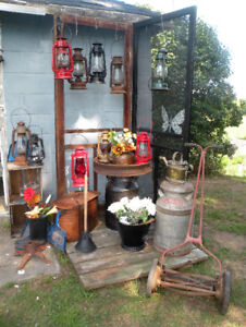 Lots of outdoor decor for sale patio lawn garden upcycled