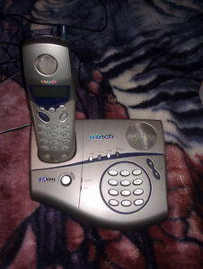 VTech cordless phone with speaker phone feature