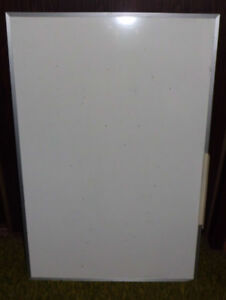 """Dry White Information Board 24"""" x 36"""""""
