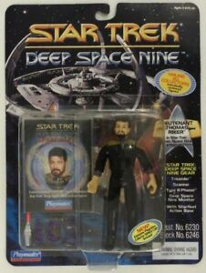 STAR TREK action figure of THOMAS RIKER ERROR CARD