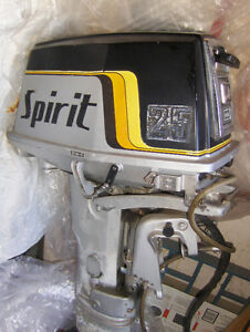 25hp Suziki Spirit outboard motor w/ electric starter West Island Greater Montréal image 2