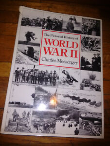 WORLD WAR 2. Huge Hardcover PHOTO HISTORY. Color