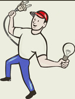 Journeyman electrician available for all your electrical