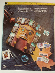 Collection Canada 1989 (timbres/stamps)