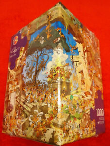 HEYE PUZZLE 1000 + POSTER CALLIGARO SATYRS COMME NEUF
