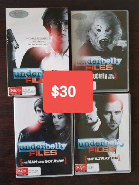 DVD Underbelly movies | CDs & DVDs | Gumtree Australia Moyne