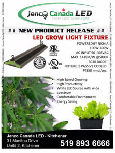 *LED HORTICULTURE GROW LIGHT - HIGH SPEED PLANT GROWTH