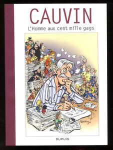 Coffret BD CAUVIN - L'Homme aux Cent Mille Gags