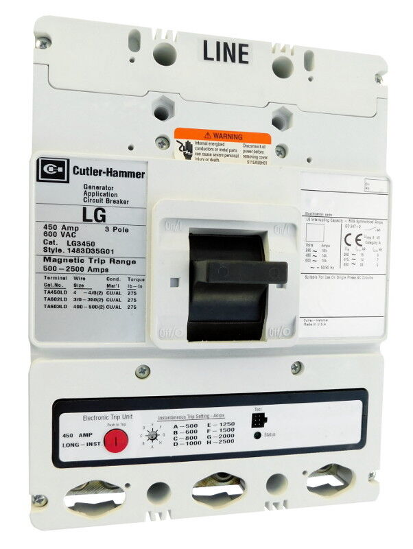 Eaton / Cutler-hammer Lg3600 / Lg3600w - Certified Reconditioned