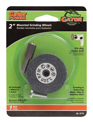 Ali Mounted Grinding Wheel For Metal Steel14 Arbor Fits Drill 2 Inch