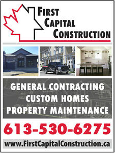 Now's the time to update, upgrade or finish your house! Kingston Kingston Area image 1